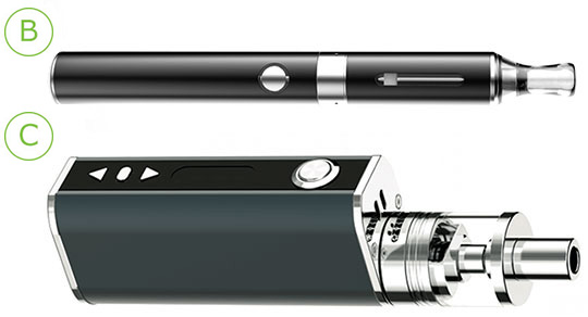 510 electronic cigarette instructions