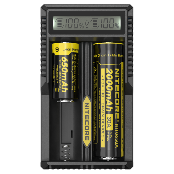 Nitecore Intellcharger UM20 LCD Li-ion Battery Charger