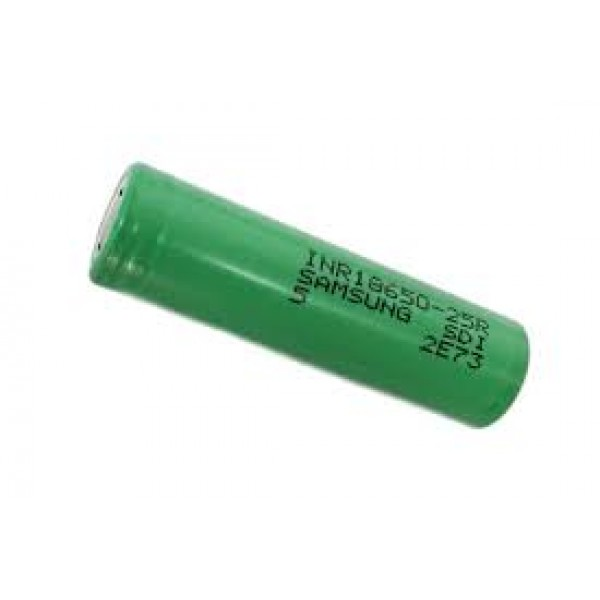 Samsung INR18650-25R 2500mAh High-drain Battery